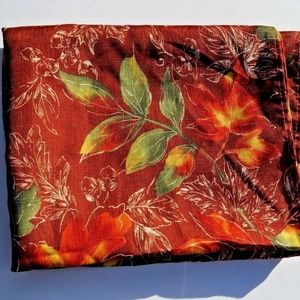 "Tablecloth Maple Leaf Fall Print 50"" x 68"""